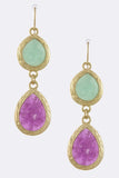 Candy Pop Earrings (Blueberry Mojito) - My Jewel Candy - 2