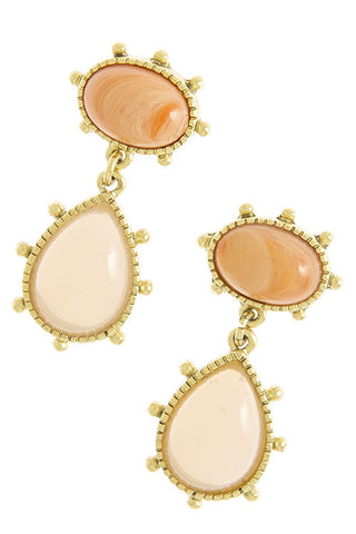 Peach Bellini Earring - My Jewel Candy - 1