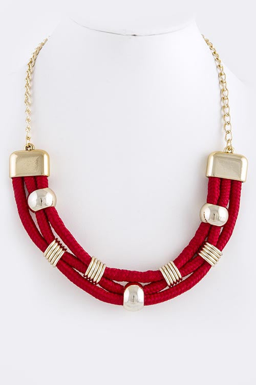 Rope Necklace (As seen on The View) - My Jewel Candy - 1