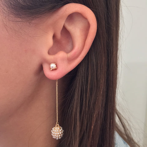 Cluster Drops Earring - My Jewel Candy