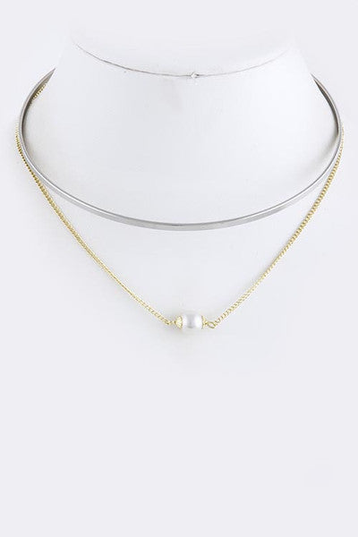 Pearl with Gold Necklace - My Jewel Candy