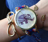 Social Saints Save Elephants Friendship Bracelet Watch