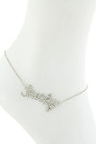 "$7 Crystal ""Lucky"" Anklet  (48 hour promotional deal) - My Jewel Candy - 2"