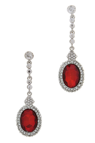 Royal Ruby Earrings - My Jewel Candy