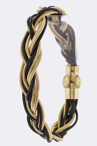 Slinky Braided Bracelet - My Jewel Candy