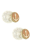 Double Sided Anchor Earrings - My Jewel Candy - 2