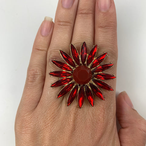 Burst Celebration Rings (Red)