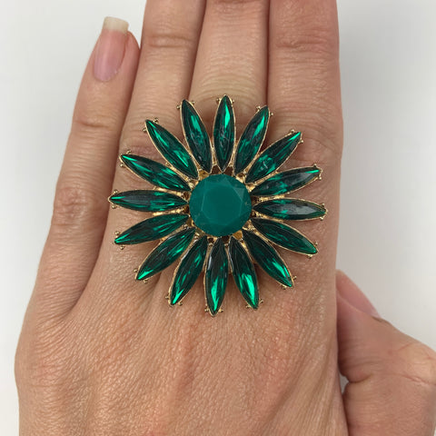Burst Celebration Rings (Green)