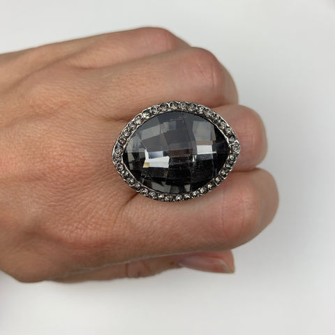 Smokey Cocktail Ring