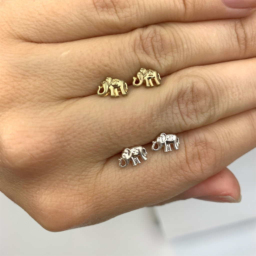 Lucky Elephant Earrings