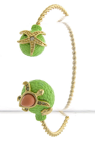 Cute AF Turtle Cuff Bracelet - My Jewel Candy - 1