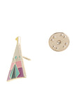 Cactus & Teepee Enamel Pin Set - My Jewel Candy - 3