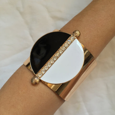 Eclipe Crystal Gold Bracelet - My Jewel Candy