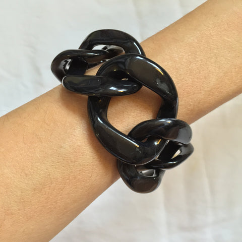 Jet Black Bracelets - My Jewel Candy