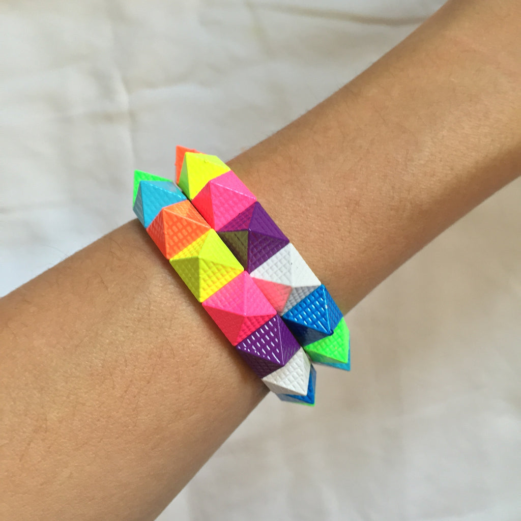 Colorful Pyramid Bracelet - My Jewel Candy