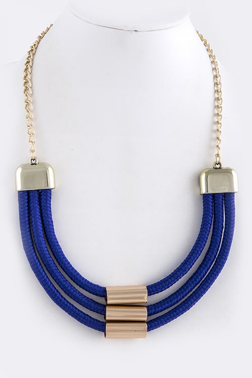 Triple Rope Necklace - My Jewel Candy