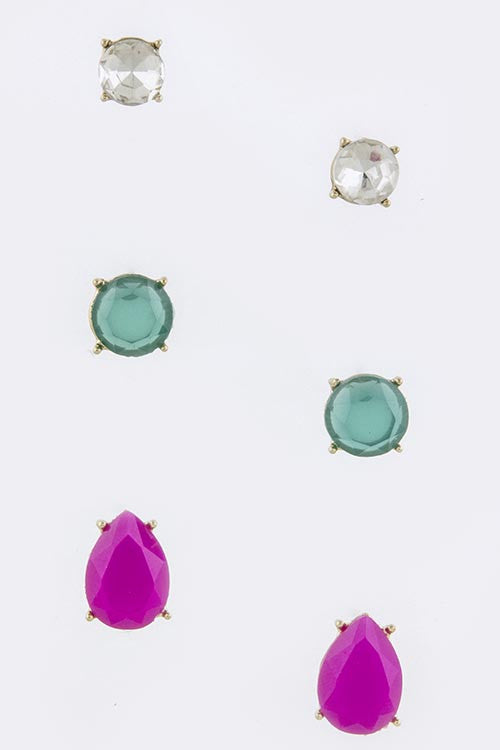Candy Stud Earring Set - My Jewel Candy - 1