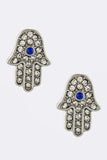 Hamsa Earrings - My Jewel Candy - 2