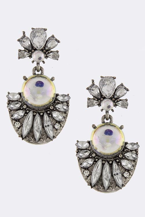 Antique Style Bauble Earrings - My Jewel Candy