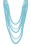 Multi Strand Ball Bead Necklace Set - My Jewel Candy - 2