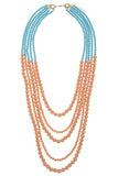 Multi Strand Ball Bead Necklace Set - My Jewel Candy - 4