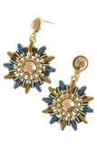 Sunburst Earrings (As seen in Woman's Day) - My Jewel Candy - 2