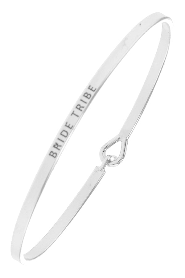 Bride Tribe Bangle Bracelets