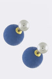 Colored Pearl Double-Sided Earrings - My Jewel Candy - 3
