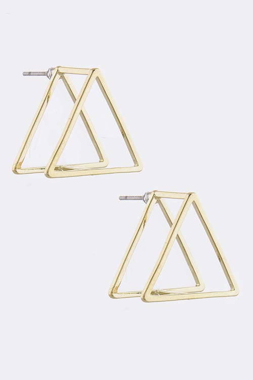 Life & Style Triangle Earrings - My Jewel Candy - 1