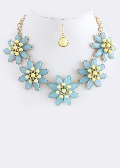 Flower Power Necklace - My Jewel Candy