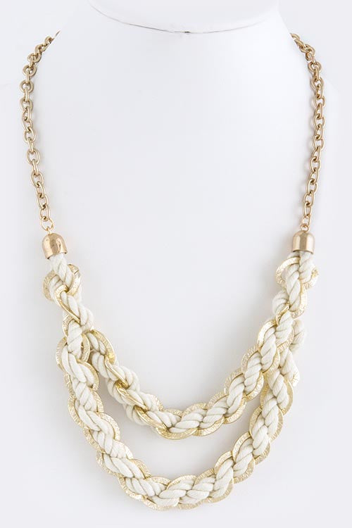 Braided Necklace - My Jewel Candy