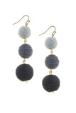 Jingle Balls Earrings (Greys)