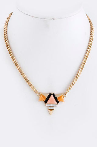 """Summer in Ibiza"" Necklace (Peach) - My Jewel Candy - 1"