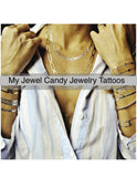 Love Collection Temporary Jewelry Tattoos III (includes 4 sheets with 4 styles) - My Jewel Candy - 6