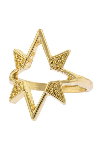 Shooting Star Knuckle Ring - My Jewel Candy - 1
