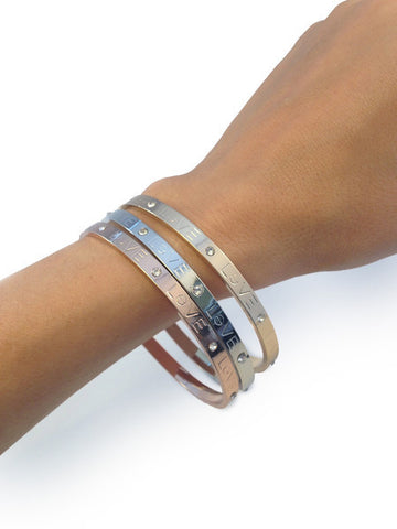 Love Bangle Bracelet (As seen in Redbook) - My Jewel Candy - 1
