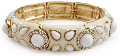 Cream Luxe Bracelet - My Jewel Candy