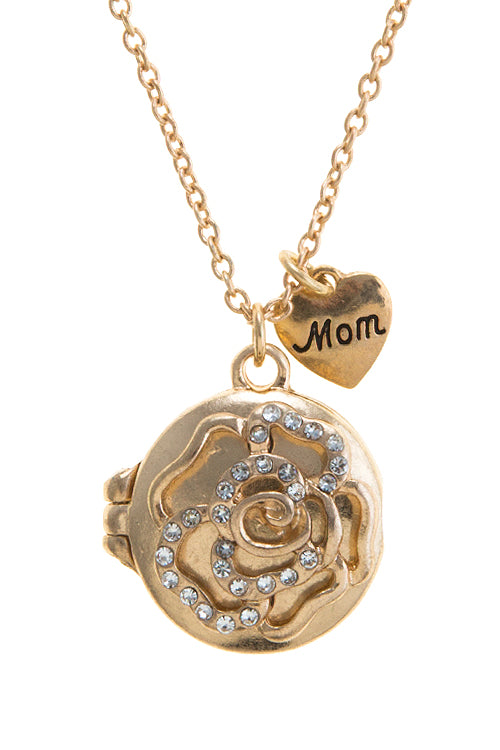 "Mother's Day ""Mom"" Locket"