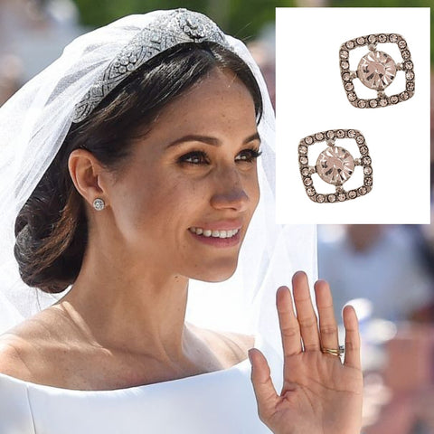 Meghan Markle Royal Wedding Earrings