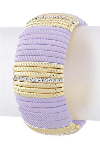 Lavender Bar Bracelet - My Jewel Candy - 1