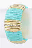 Baby-Blue Bar Bracelet - My Jewel Candy - 1