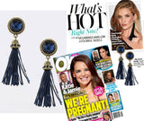 Tassel Earrings (As Seen in OK! Magazine) - My Jewel Candy - 1