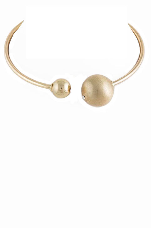 Open Orb Necklace - Gold (As seen in People Style Watch Magazine) - My Jewel Candy