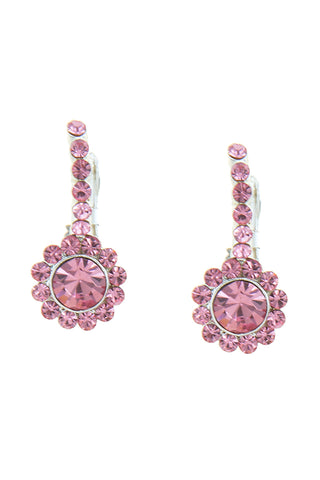 Pink Bridesmaids Earrings