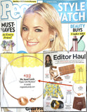 Open Orb Necklace (As seen in People Style Watch Magazine) - My Jewel Candy - 2