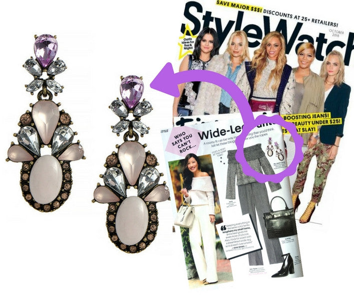 People Style Watch Earrings - My Jewel Candy - 1