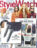 Screwed Crystal Earrings (Gunmetal) - As seen in People Style Watch Magazine - My Jewel Candy - 2