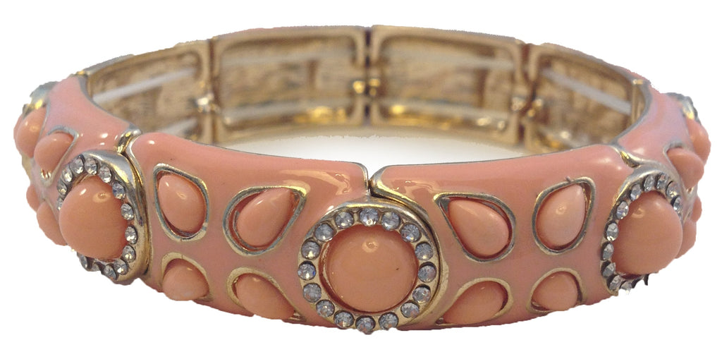 Peach Luxe Bracelet - My Jewel Candy - 1