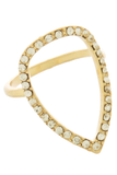Teardrop Ring (Gold) - My Jewel Candy - 1