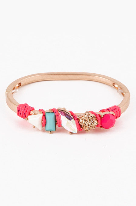 Pink Crandy Crush Bracelet - My Jewel Candy - 1